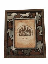 Running Horses Picture Frame 94965