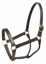Schutz Classic Turn Out Halter with Single Crown Buckle