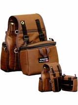 Small Insulated Saddle Bags with Detachable Side Coolers 407
