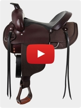 "South Bend Saddle Co ""Navigator"" Gaited Trail Saddle 1003 Video Review"