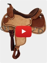 South Bend Saddle Co Training Saddle 2387 Video Review