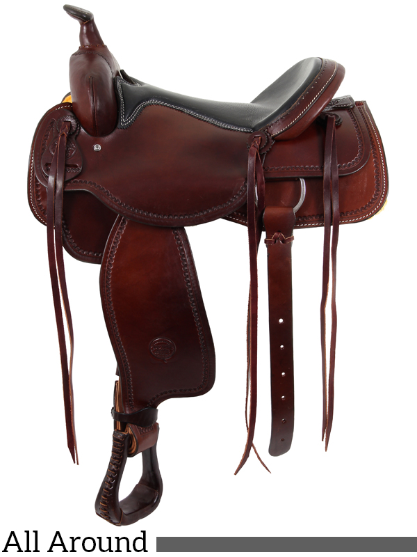 The Oregon Trail All Around Saddle by Colorado Saddlery