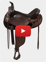 The Tennessean Ladies Gaited Trail Saddle 1-6398 Video Review