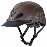 Troxel Dakota Turquoise Paisley All-Trails Helmet 04-318