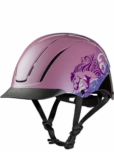 Troxel Spirit Pink Dreamscape All-Purpose Riding Helmet 04-538