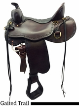 "** SALE ** 14.5"" to 18.5"" Tucker Black Mountain Gaited Saddle 261"