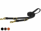 Tucker Flat Single Leather Reins 215