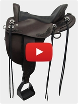 Tucker Horizon Compass Rose Plantation Saddle 150 Video Review