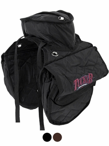 Tucker Saddle Cantle Bag-Tucker Logo-Nylon 4705-10