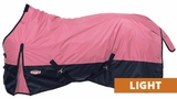 Waterproof Poly Turnout Blanket, Med/Light