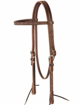 Weaver Boot Stitch Browband Headstall 10-0395