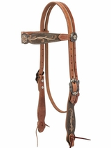 Weaver Country Charm Browband Headstall 10-0405