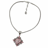 Western Charm Necklace Diamond Berry - Pink 2972230