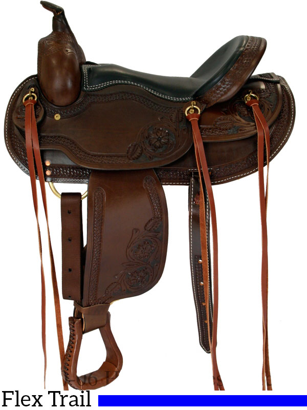 15 Quot To 17 Quot Dakota Western Saddle Flex Tree Trail Saddle 2212