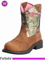 Women's Ariat Fatbaby Cowgirl Steel Toe Boots 10012815
