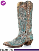 Women's Corral Metallic Inlay Boots A3398