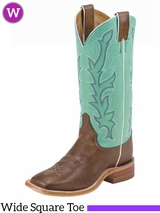 Women's Justin Albany Seagreen Boots BRL310