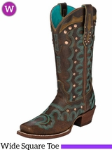 Women's Justin Faxon Brown Boots L4360