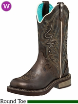 Women's Justin Lily Brown Pull-On Boots L2911