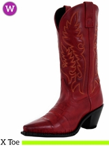 Women's Laredo Madison Burnished Red Boots 51055
