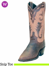 Women's Sage Distressed Cowhide Cutout Western Boot 4540