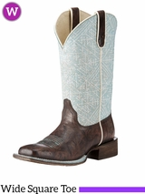 Womens Ariat Circuit Savanna Wide Square Toe Boots 10023138