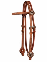 XP Hearts & Dots Headstall by Circle Y 0168-3104