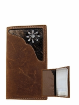 Youth Rodeo Wallet with Cowhide and Spur N5437844