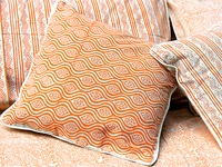 Tilonia® Home: Decorative Pillow Cover - Mod Pod in Pumpkin