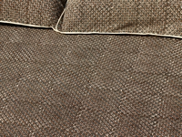 Tilonia Home: King Duvet Set - Dots in Grey and Chocolate