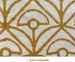 Tilonia Home: Queen Quilt - Mod Mum & Centipede Stripe in Gold