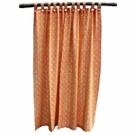 Tilonia® Shower Curtain - Mod Pod in Pumpkin Orange