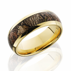 14K Yellow Gold Ring With Kings Wood Camo by Lashbrook