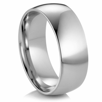 "ARTCARVED  Classic Comfort Fit Palladium Wedding Band - ""OPTIMA"""