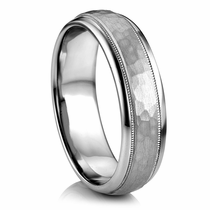 "ARTCARVED  Palladium Wedding Band - ""PARRISH"""