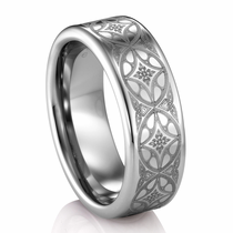 ARTCARVED  ® Tungsten Ring - CITADEL