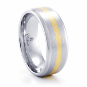 BAILEY Cobalt Chrome Ring by Heavy Stone Rings