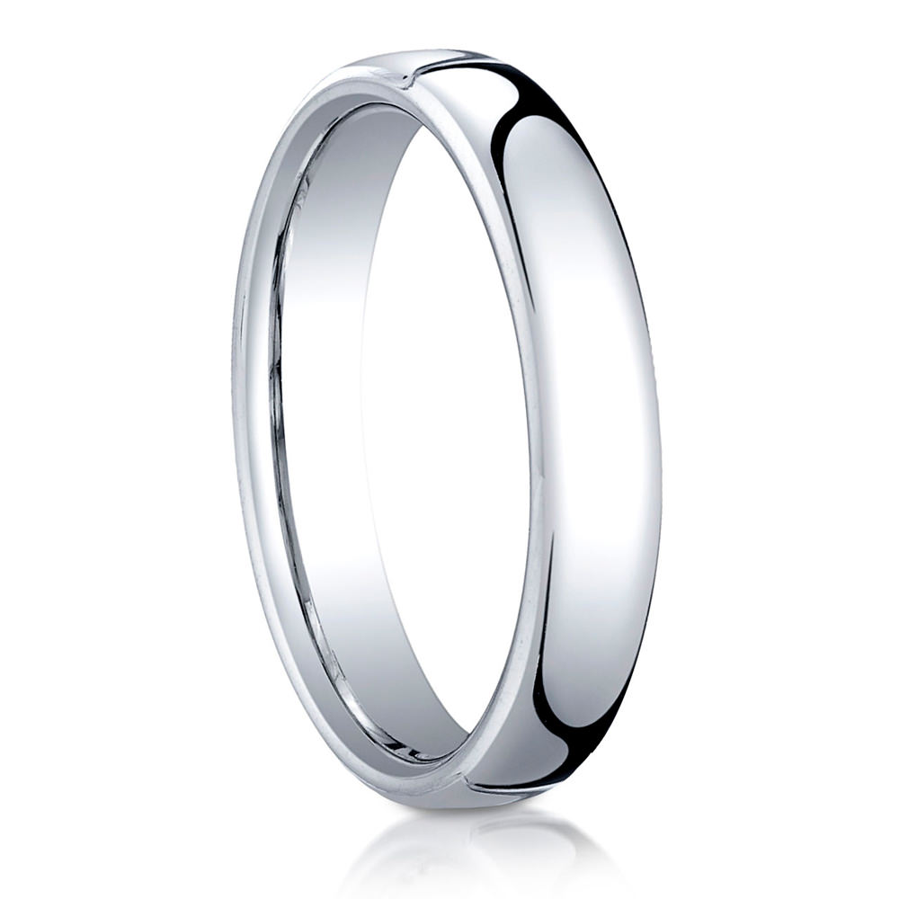 men s coin cfm wedding benchmark rivet detail edge ring rings polished mens white gold