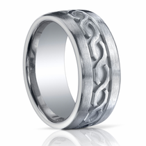 BENCHMARK Argentium Sterling Silver Ring