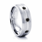 BENCHMARK Cobalt Chrome and Black Diamond Ring Construct