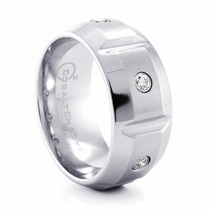 BENCHMARK Cobalt Chrome & Diamond Ring Ekton