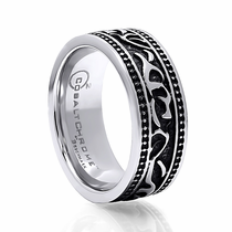 BENCHMARK Cobalt Tribal Design Ring