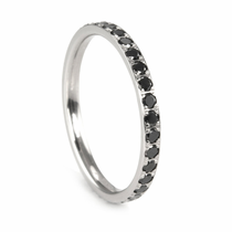 BENCHMARK Ladies Black Diamond Eternity Band