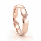 BENCHMARK Scarlett 14K Rose Gold Wedding Band