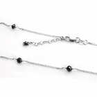 Black Diamond Tin Cup Necklace by belloria