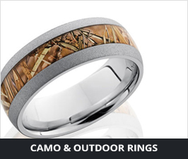Camo Rings & Wedding Bands