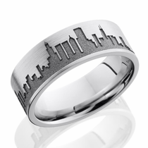 Chicago Skyline Ring by Lashbrook Designs
