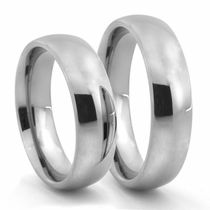 CLASSIC Titanium Wedding Band - Set