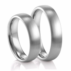 COGE 5mm Palladium Wedding Band - Set