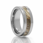 COMPOUND Tungsten Carbide Camouflage Ring by Heavy Stone Rings